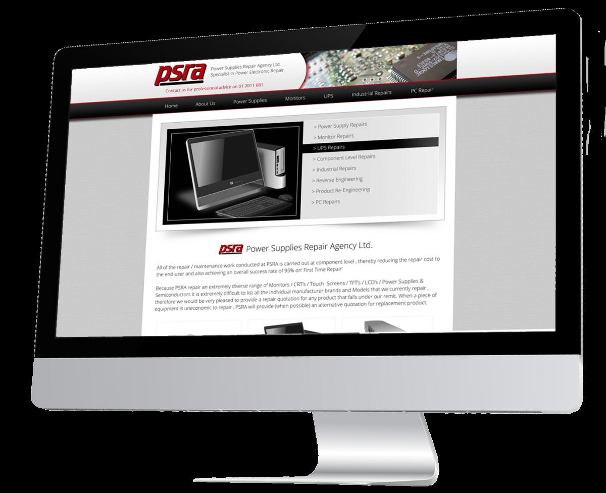 Power Supply Repair Agency Website