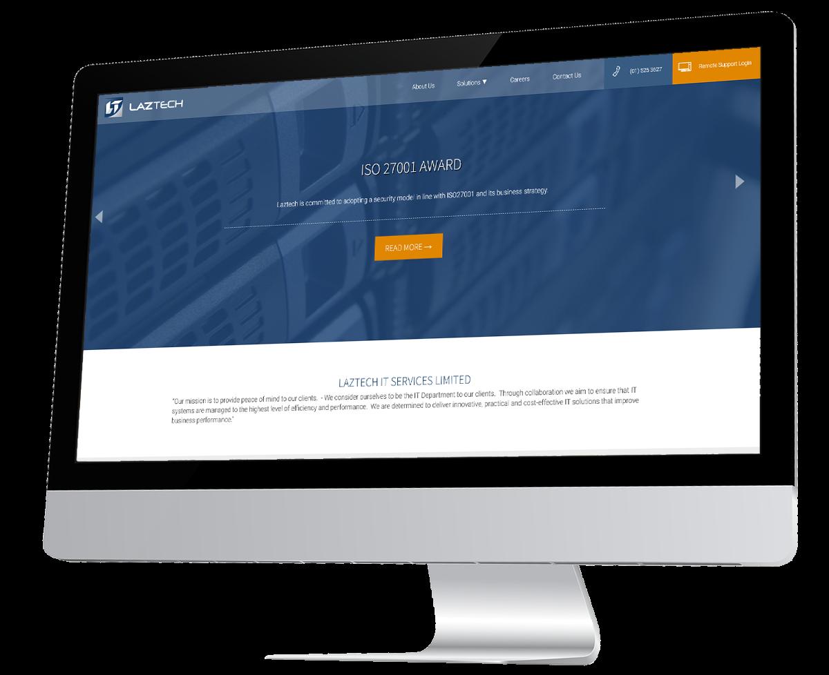 Laztech IT Services Website